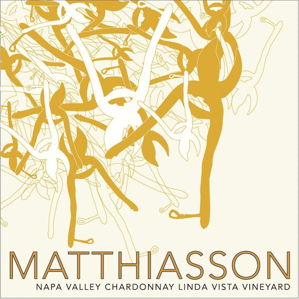 Matthiasson Linda Vista Vineyard Chardonnay 2017 Front Label