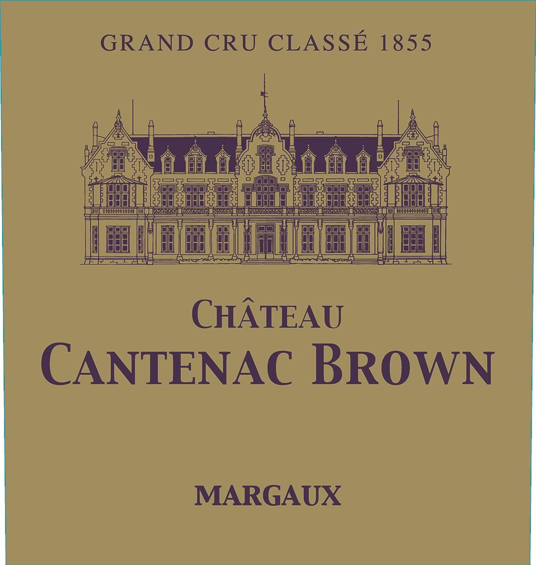 Chateau Cantenac Brown (Futures Pre-Sale) 2019  Front Label
