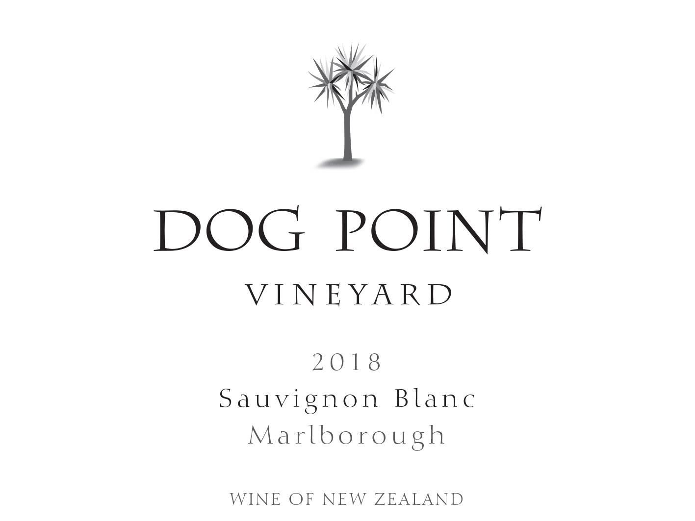 Dog Point Vineyard Sauvignon Blanc 2018  Front Label