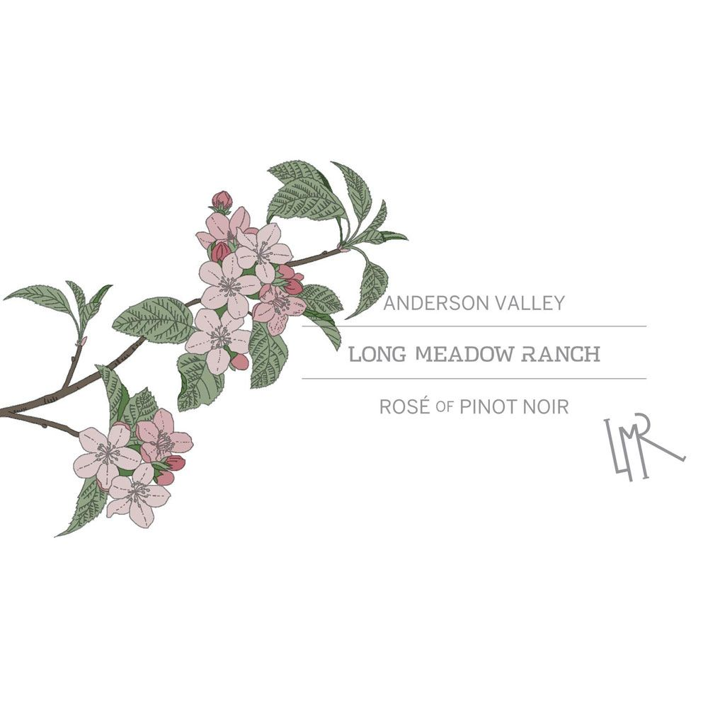 Long Meadow Ranch Anderson Valley Rose 2018 Front Label