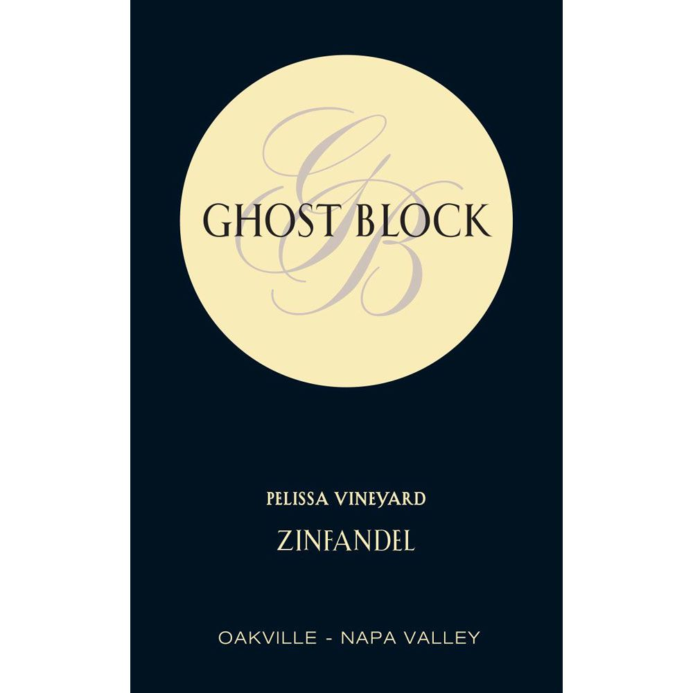 Ghost Block Pelissa Vineyard Zinfandel 2018  Front Label