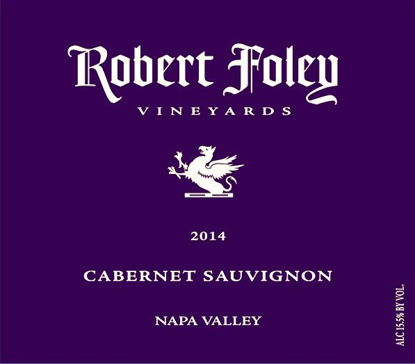 Robert Foley Vineyards Cabernet Sauvignon 2014  Front Label