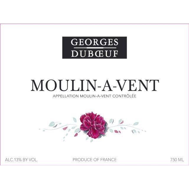 Duboeuf Moulin-a-Vent 2017  Front Label