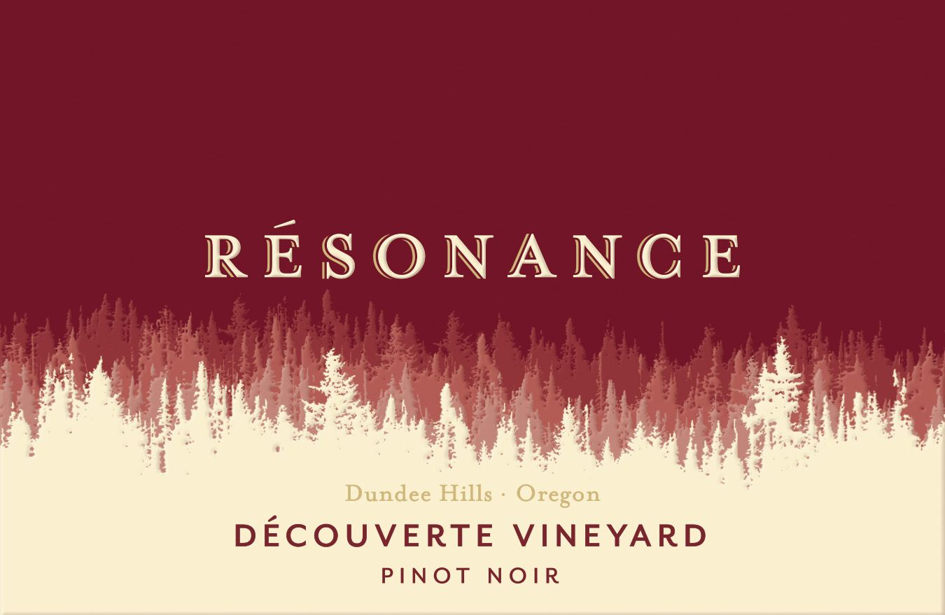 Resonance Decouverte Vineyard Pinot Noir 2017  Front Label
