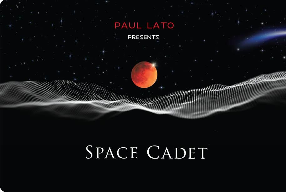 Paul Lato Space Cadet Syrah/Grenache 2016  Front Label