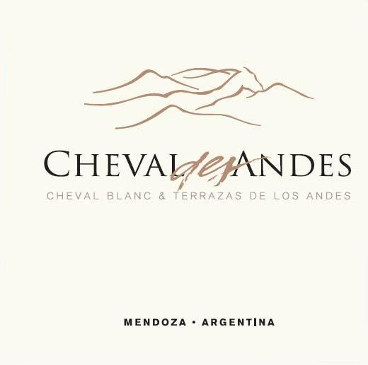Cheval des Andes  2015 Front Label