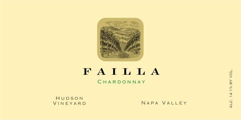 Failla Hudson Vineyard Chardonnay 2013 Front Label