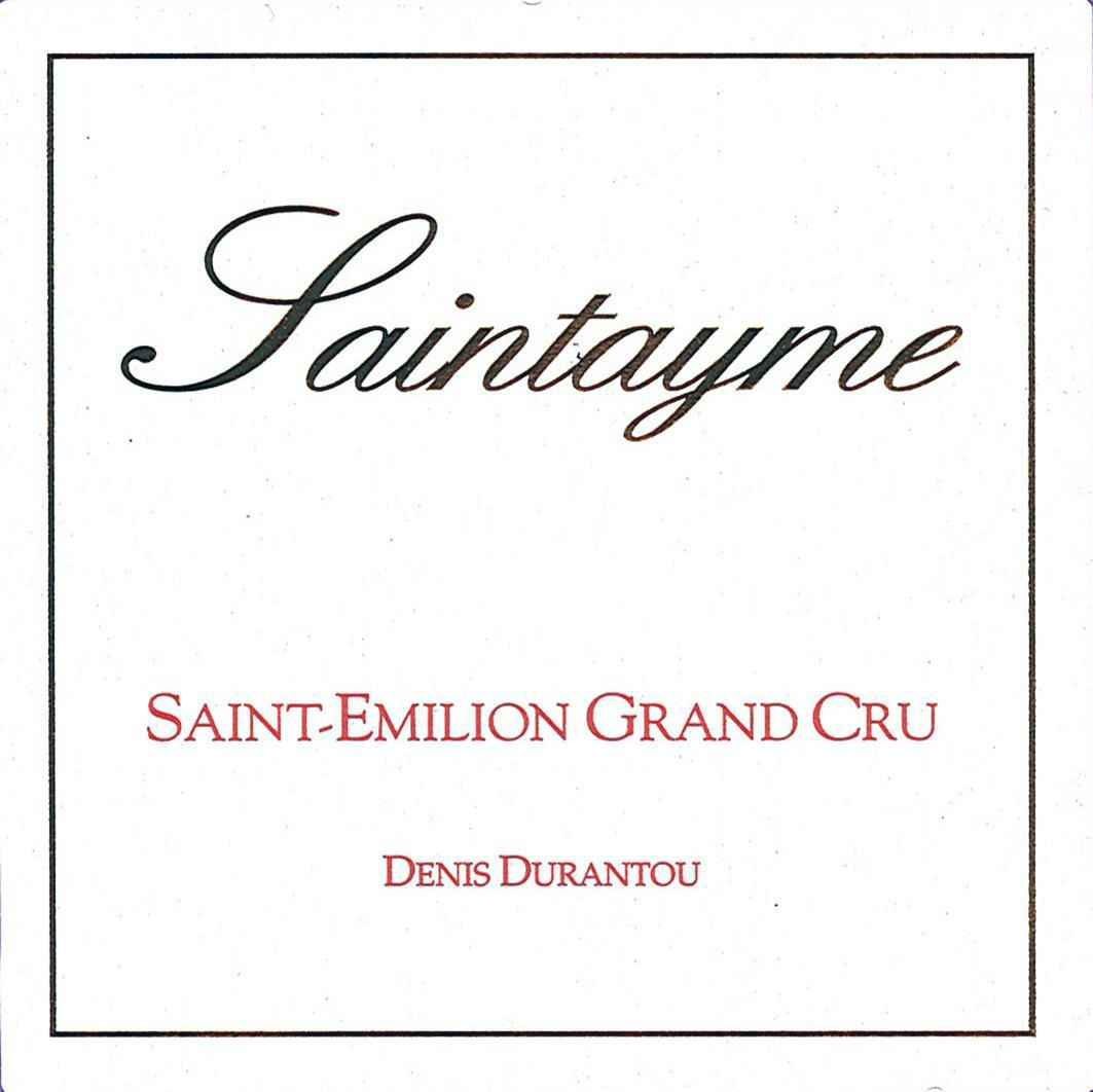 Chateau Saintayme (Futures Pre-Sale) 2018  Front Label