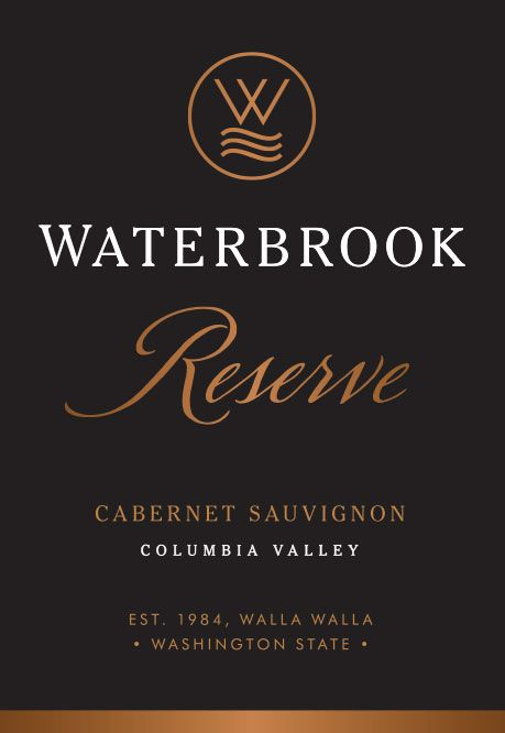 Waterbrook Reserve Cabernet Sauvignon 2015  Front Label
