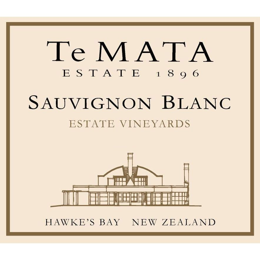 Te Mata Estate Vineyards Sauvignon Blanc 2018 Front Label