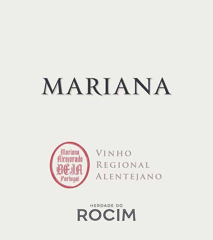 Herdade do Rocim Mariana Rose 2019  Front Label