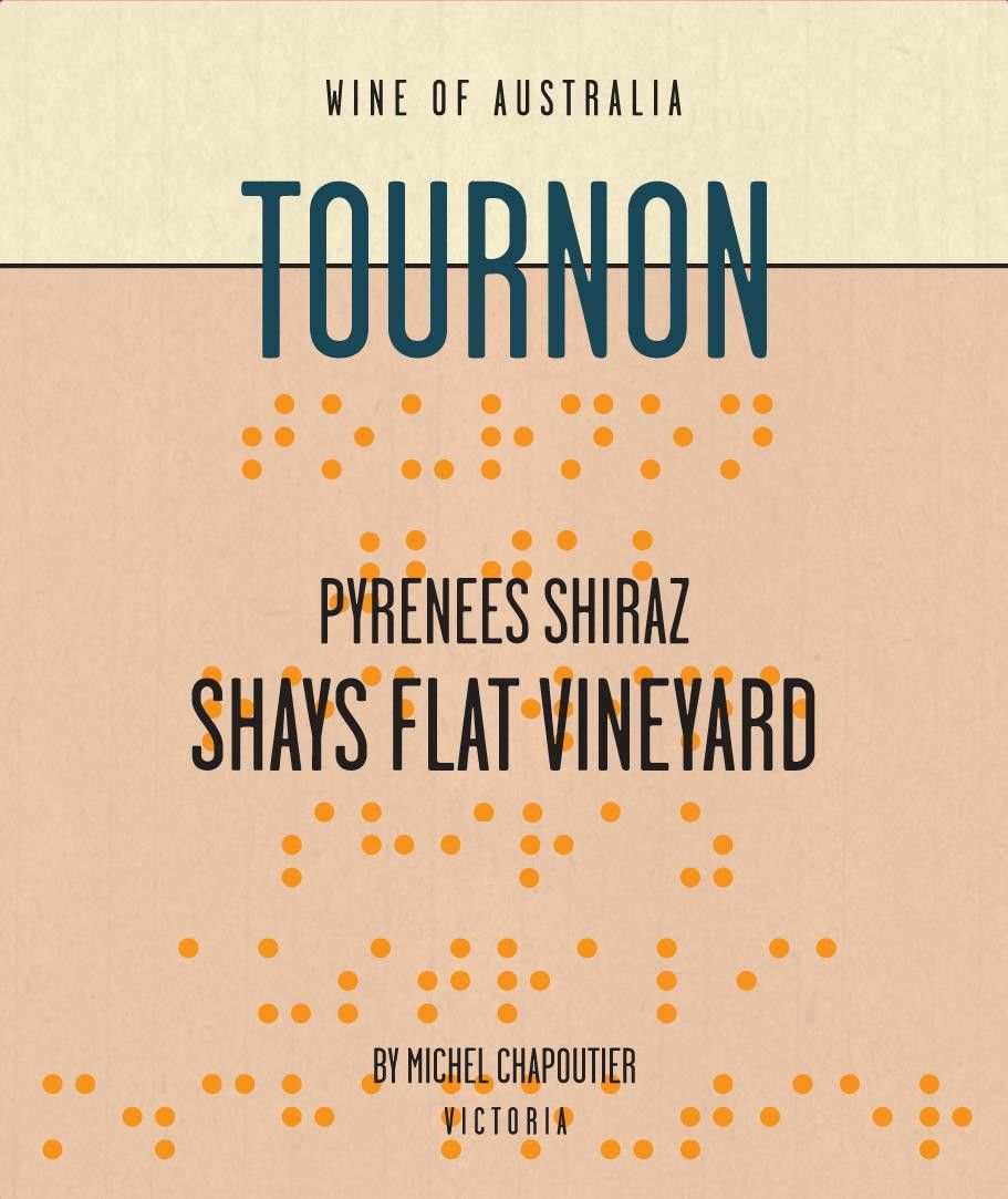 Tournon Shay's Flat Shiraz 2013 Front Label