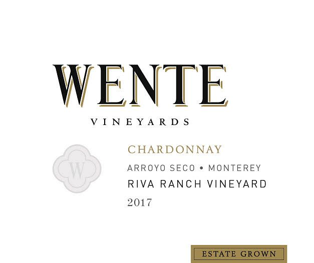 Wente Riva Ranch Chardonnay 2017  Front Label
