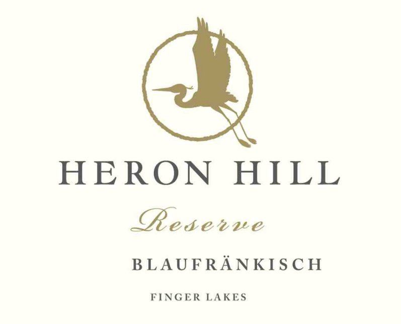 Heron Hill Winery Reserve Blaufrankisch 2013 Front Label