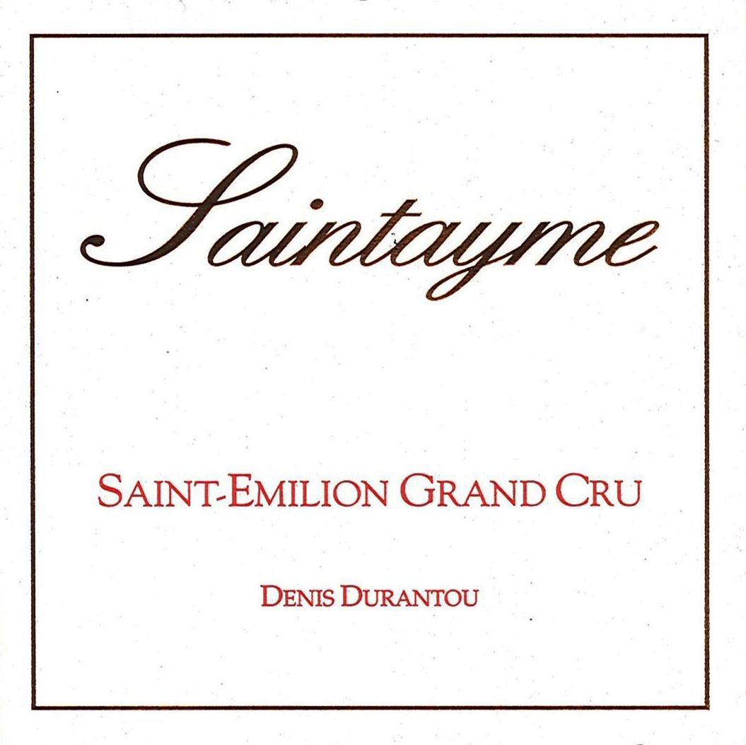 Chateau Saintayme  2016  Front Label