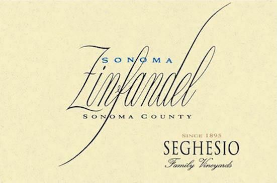 Seghesio Sonoma Zinfandel (375ML half-bottle) 2017 Front Label