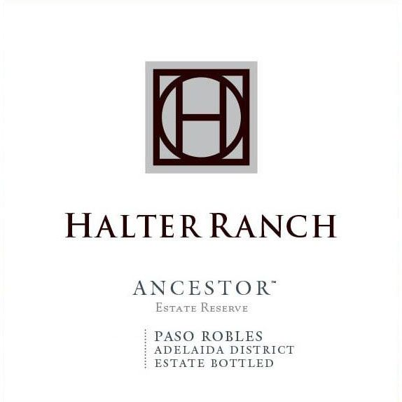 Halter Ranch Vineyard Ancestor Estate Reserve 2017  Front Label