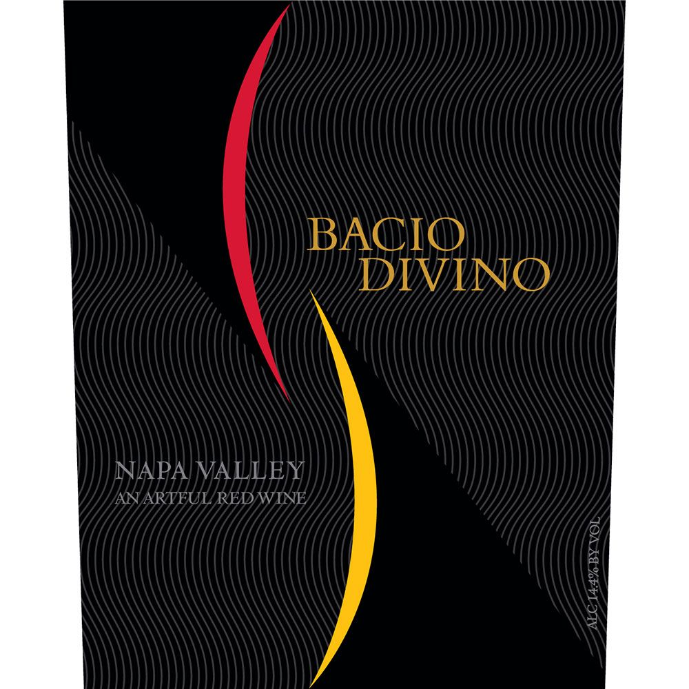 Bacio Divino Proprietary Red 2016  Front Label