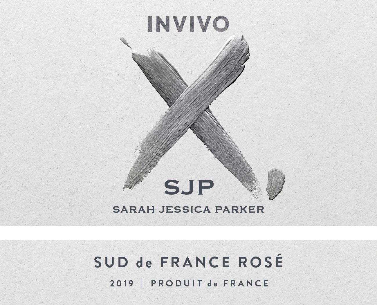 Invivo X by Sarah Jessica Parker Rose 2019  Front Label