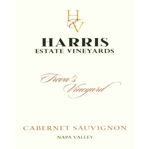 Heritage School Vineyards Treva's Vineyard Cabernet Sauvignon (formerly Harris Estate) 2003  Front Label