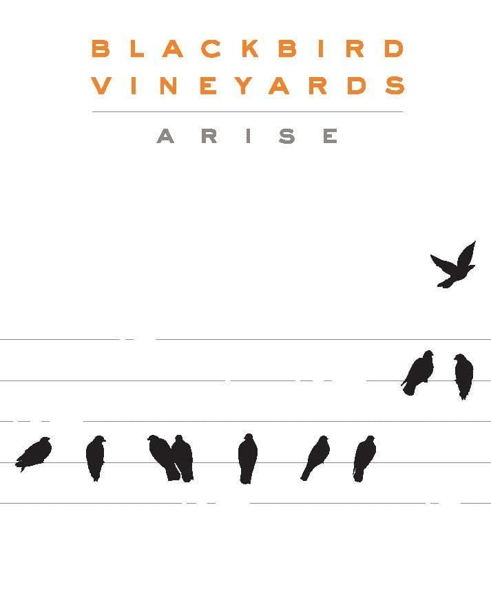 Blackbird Vineyards Arise Napa Valley Proprietary Red (375ML) 2017  Front Label