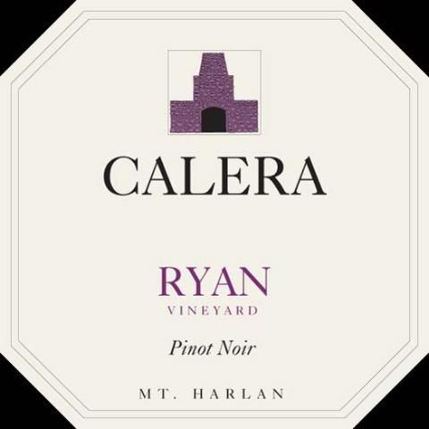 Calera Ryan Vineyard Pinot Noir 2015 Front Label
