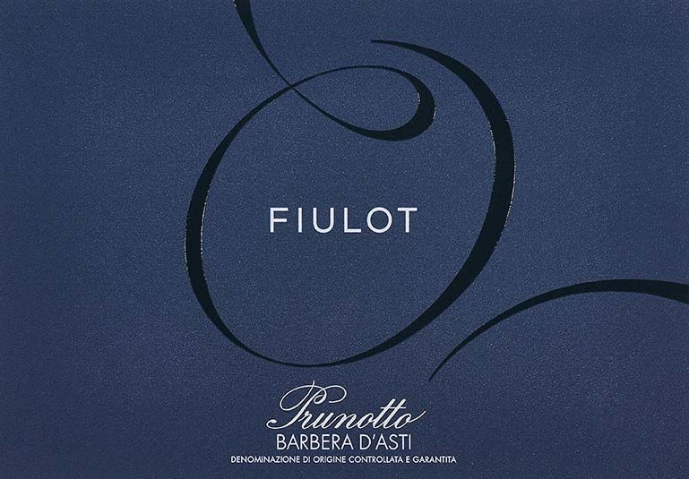 Prunotto Fiulot Barbera d'Asti 2018  Front Label