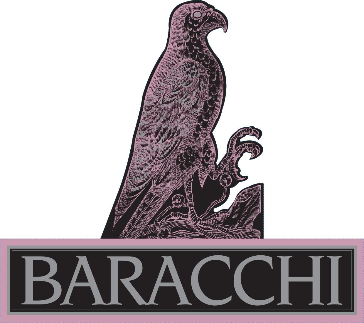 Baracchi Brut Rose of Sangiovese 2015 Front Label