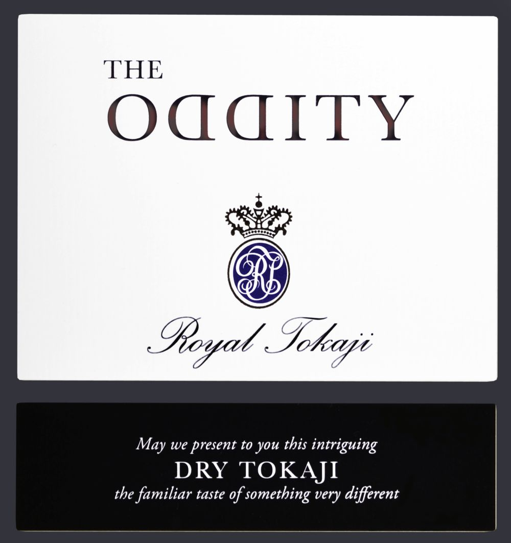 Royal Tokaji The Oddity Furmint 2016  Front Label