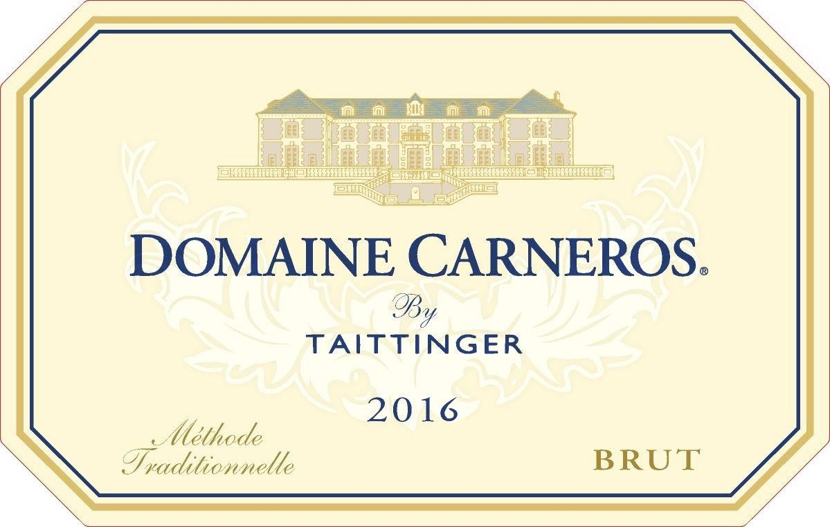 Domaine Carneros Brut 2016  Front Label