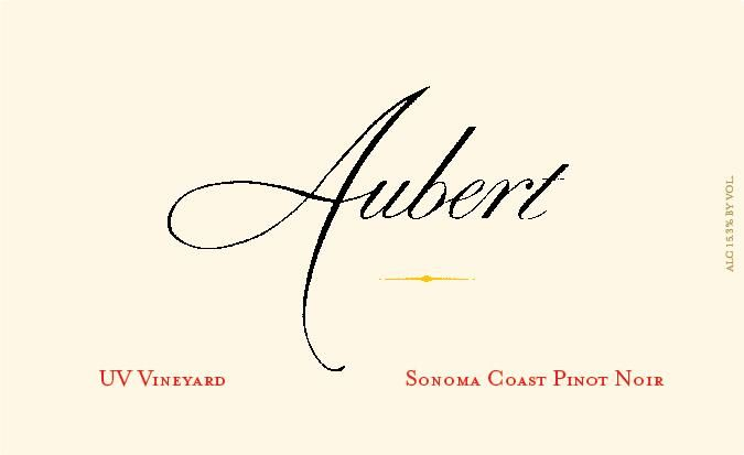 Aubert UV Vineyard Pinot Noir 2007  Front Label