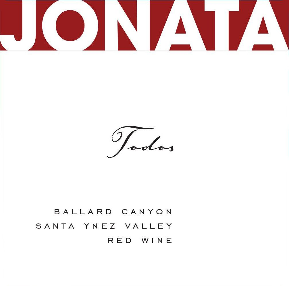 Jonata Todos Proprietary Red Wine 2015  Front Label