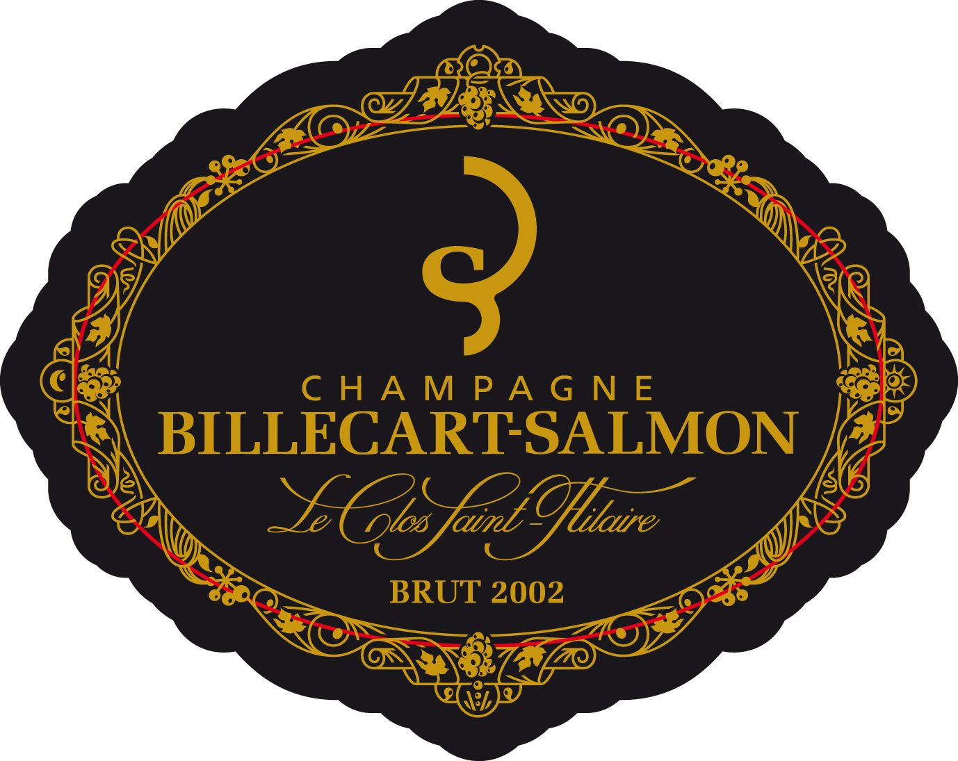 Billecart-Salmon Le Clos Saint-Hilaire 2002  Front Label