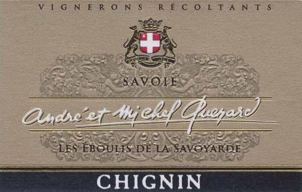 Andre & Michel Quenard Chignin Blanc 2015  Front Label