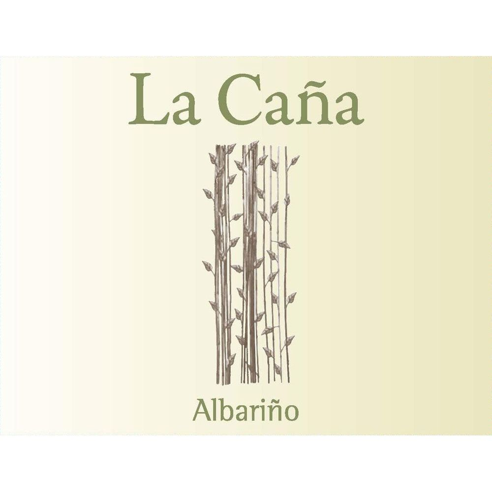 La Cana Albarino (375ML half-bottle) 2017 Front Label