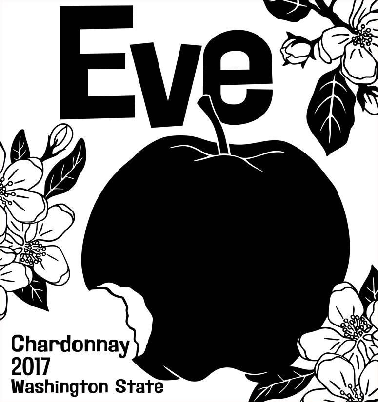 Charles Smith Eve Chardonnay 2017 Front Label