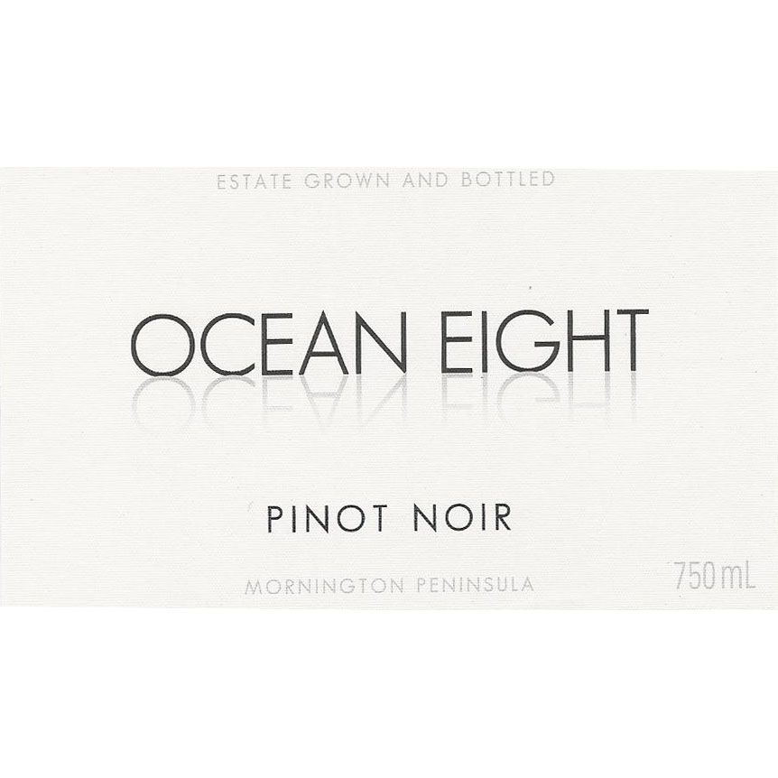 Ocean Eight Pinot Noir 2015  Front Label