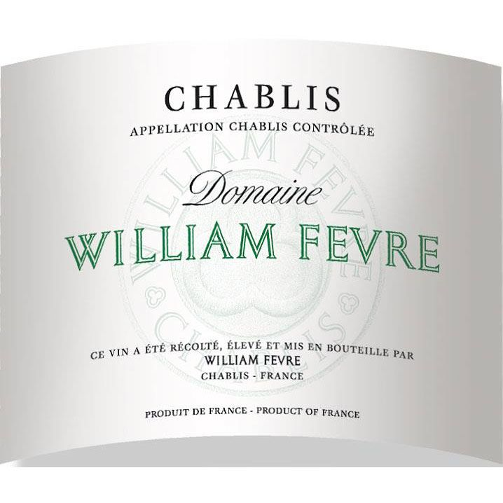William Fevre Chablis Domaine 2018  Front Label