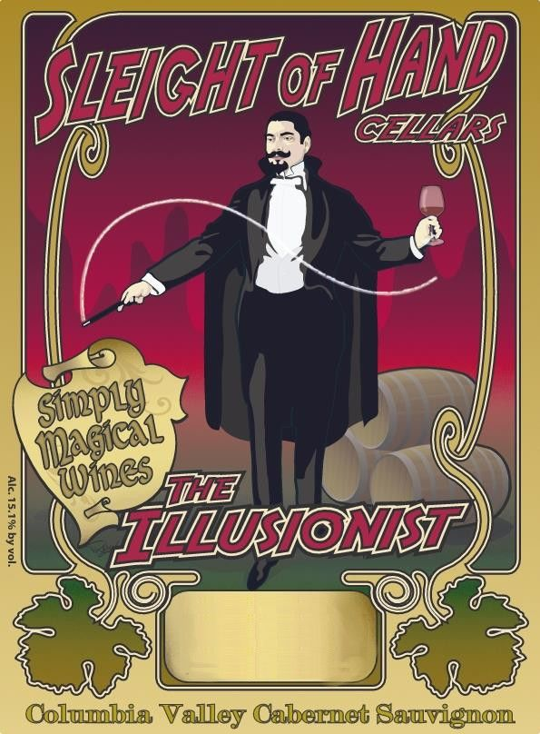 Sleight Of Hand The Illusionist Cabernet Sauvignon 2015 Front Label