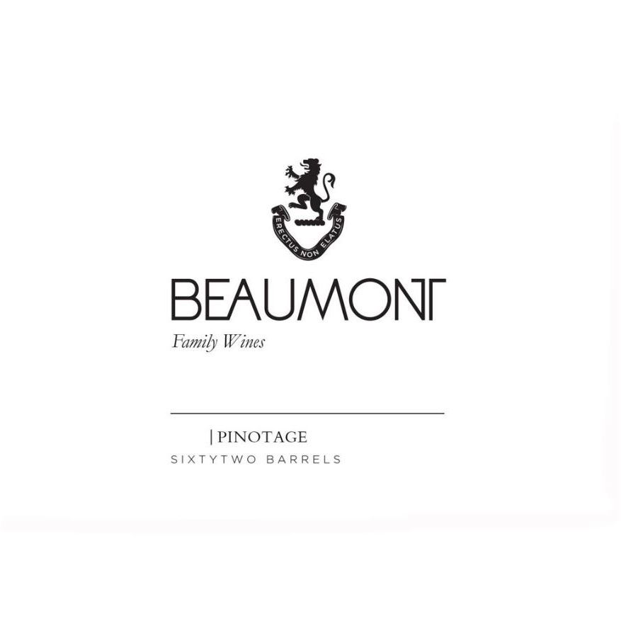 Beaumont Pinotage 2016  Front Label