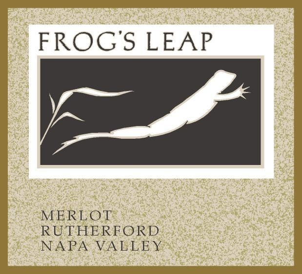 Frog's Leap Merlot (375ML half-bottle) 2016 Front Label