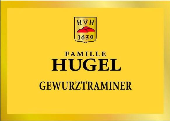 Hugel Gewurztraminer 2015  Front Label