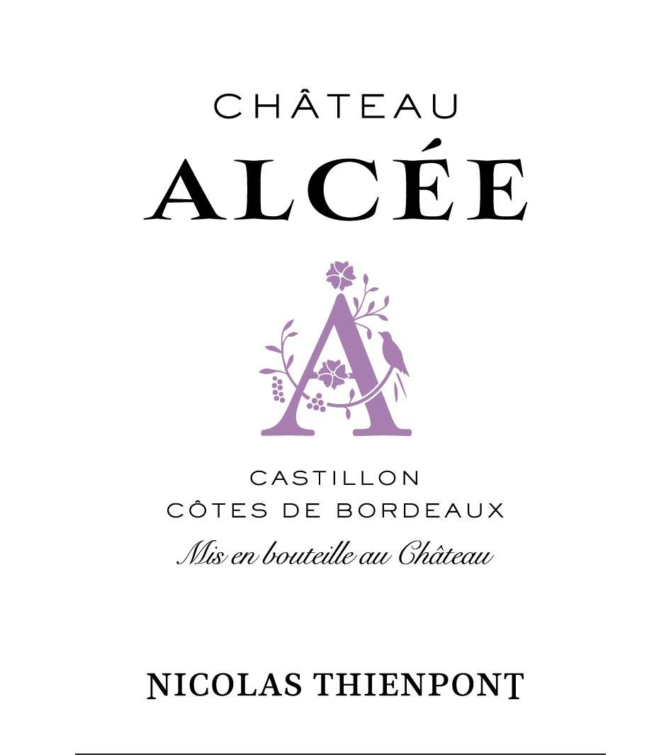 Chateau Alcee (Futures Pre-Sale) 2018  Front Label