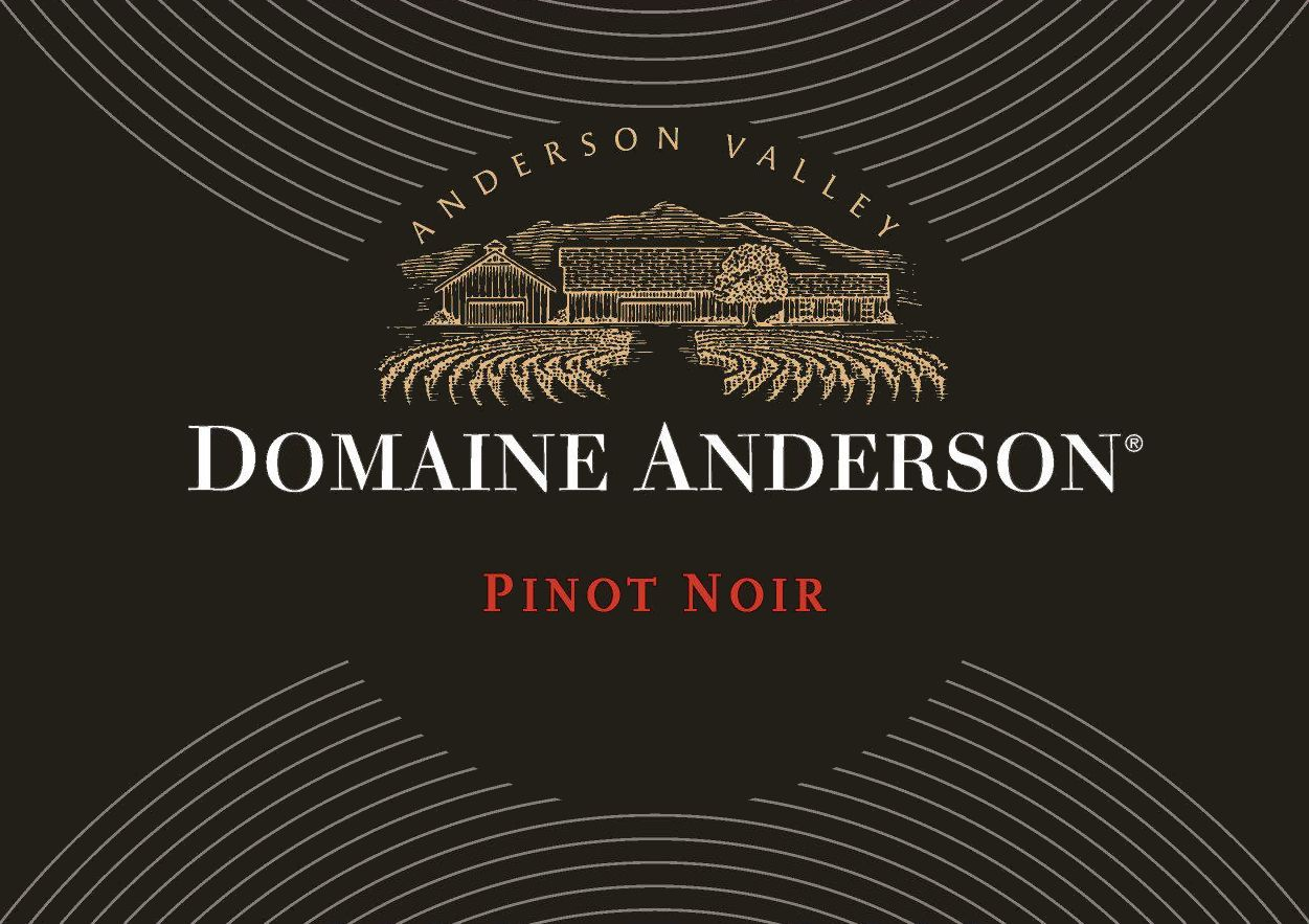 Domaine Anderson Anderson Valley Pinot Noir 2014 Front Label