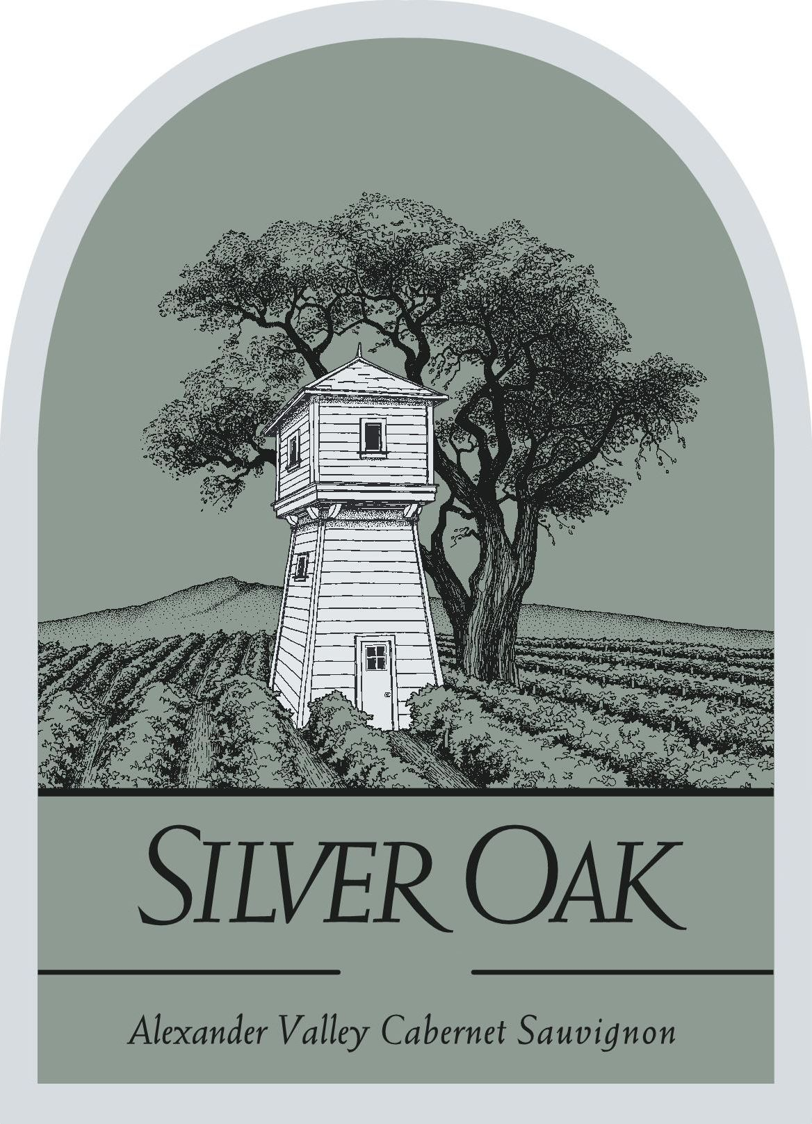 Silver Oak Alexander Valley Cabernet Sauvignon (3 Liter Bottle) 1997  Front Label