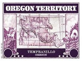 Paul O'Brien Winery  Oregon Territory Tempranillo 2014  Front Label