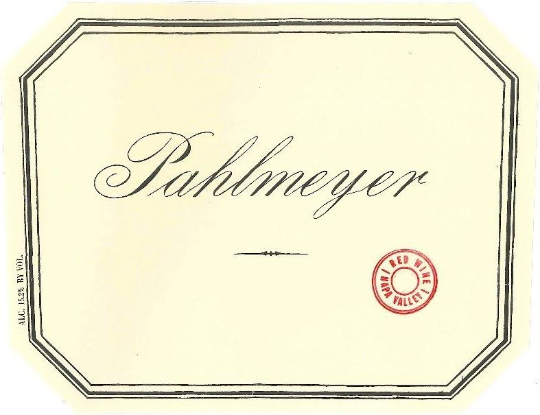 Pahlmeyer Napa Valley Proprietary Red (1.5 Liter Magnum) 2015 Front Label