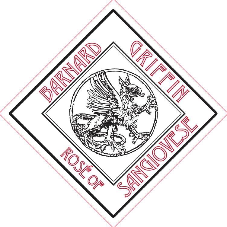 Barnard Griffin Rose of Sangiovese 2019  Front Label