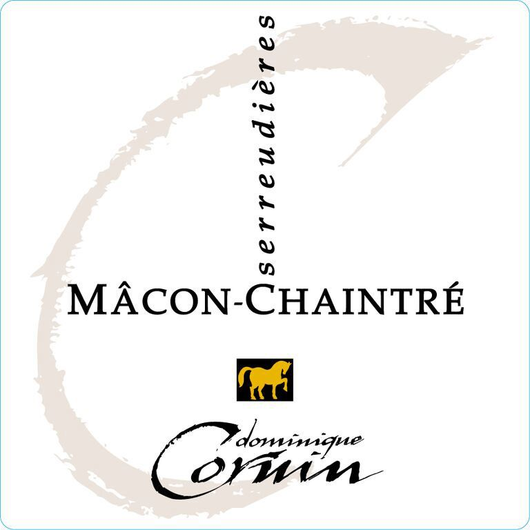 Dominique Cornin Macon-Chaintre Les Serreudieres 2017  Front Label