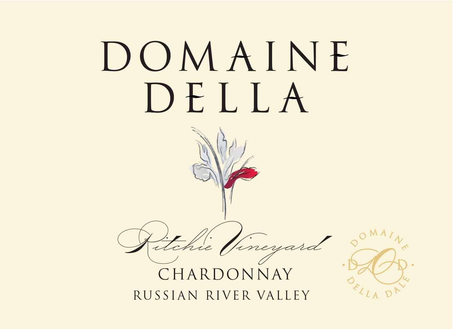 Domaine Della Ritchie Vineyard Chardonnay 2018  Front Label